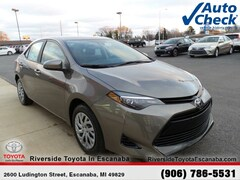 New 2018 Toyota Corolla LE Sedan 20581 near Escanaba, MI