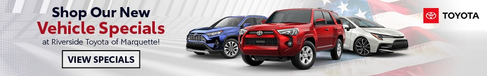Shop Our New Vehicle Specials - February