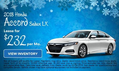 Lease 2019 Accord Sedan LX 2/5