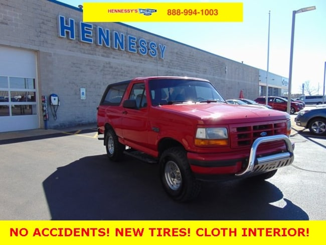 1996 Ford Bronco XLT SUV