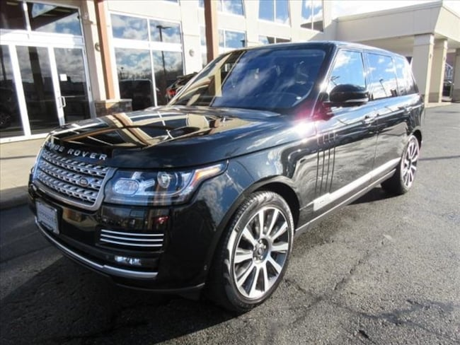 Certified Used 2014 Land Rover Range Rover 5.0L V8 Supercharged Autobiography SUV For Sale Near Boston Massachusetts