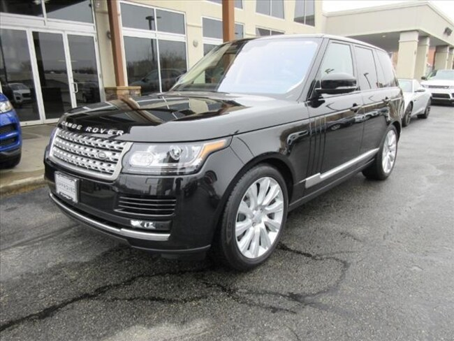 Certified Used 2016 Land Rover Range Rover 5.0L V8 Supercharged SUV For Sale Near Boston Massachusetts