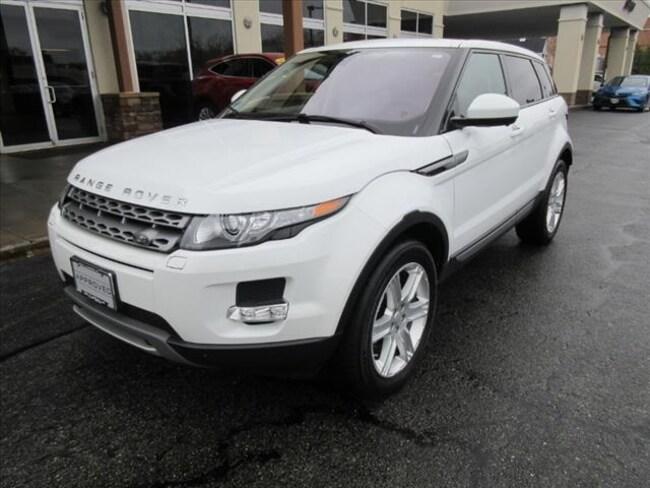 Used 2015 Land Rover Range Rover Evoque Pure SUV For Sale Near Boston Massachusetts