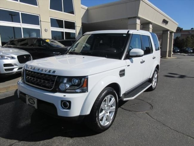 Certified Used 2016 Land Rover LR4 HSE SUV For Sale Near Boston Massachusetts