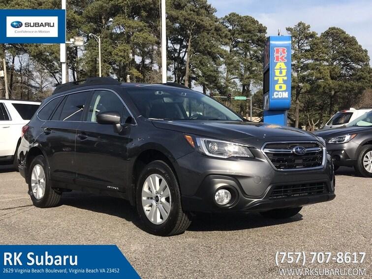 New 2019 Subaru Outback 2.5i Premium SUV For Sale in Virginia Beach, VA