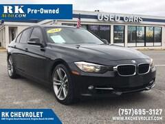 Bargain Used 2014 BMW 3 Series 328i Sedan WBA3A5G51ENP30855 in Virginia Beach