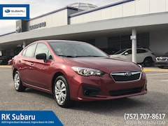 New 2019 Subaru Impreza 2.0i Sedan 297521 for sale in Virginia Beach, VA