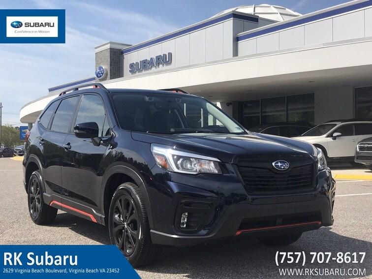 New 2019 Subaru Forester Sport SUV For Sale in Virginia Beach, VA