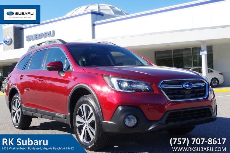 New 2019 Subaru Outback 2.5i Limited SUV For Sale in Virginia Beach, VA