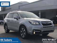 Certified Pre-Owned 2017 Subaru Forester Limited 2.5i Limited CVT JF2SJAJC4HH503257 in Virginia Beach