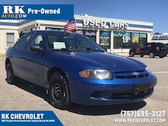 Used 2004 Chevrolet Cavalier Sedan 1G1JC52F047359221 under $5,000 for Sale in Virginia Beach