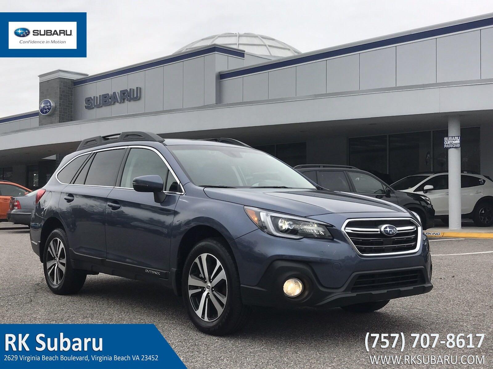 2018 Subaru Outback Limited 2.5i Limited 4S4BSANC0J3359968