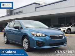 New 2019 Subaru Impreza 2.0i 5-door 297615 for sale in Virginia Beach, VA