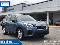 Certified Pre-Owned 2019 Subaru Forester 2.5i JF2SKACC8KH415135 in Virginia Beach