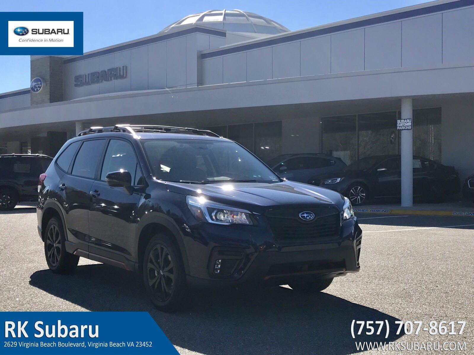 2019 Subaru Forester Sport 2.5i Sport JF2SKAPC0KH425099