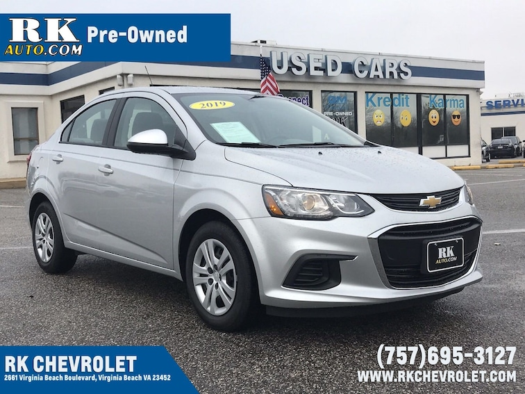 Used 2019 Chevrolet Sonic Ls For Sale Virginia Beach Vin
