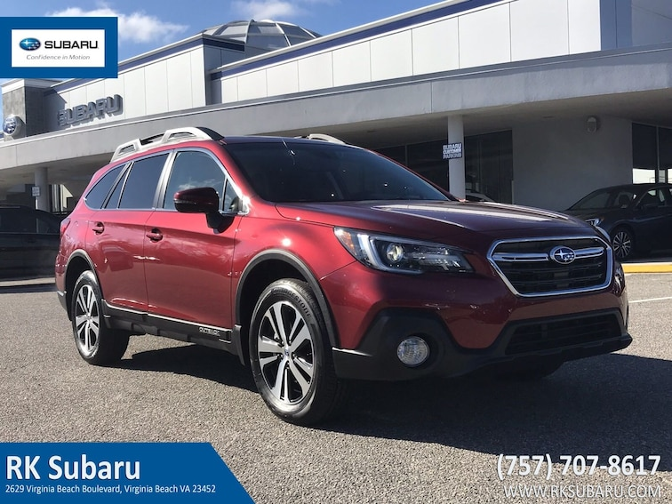 New 2019 Subaru Outback 3.6R Limited SUV For Sale in Virginia Beach, VA