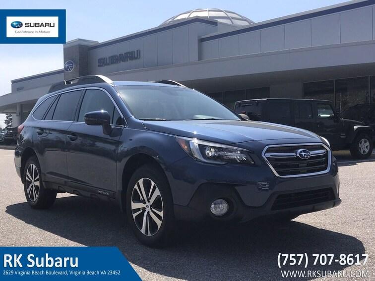 New 2019 Subaru Outback 3.6R Limited SUV For Sale in Virginia Beach, VA