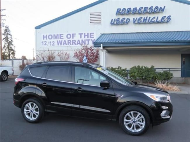 Certified Pre-Owned 2018 Ford Escape SE 4x4 SUV 1FMCU9GD7JUA11369 For Sale Bend, OR