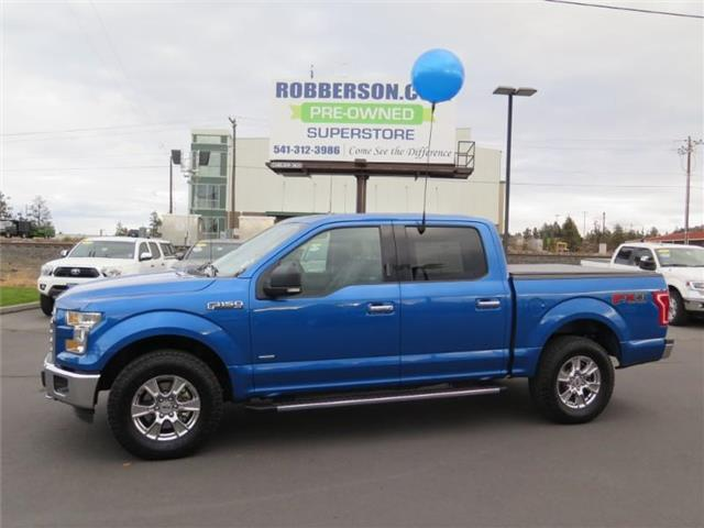 2016 Ford F-150 XLT 4x4 SuperCrew Cab Styleside 5.5 ft. box 145 in Crew Cab Short Bed Truck 1FTEW1EP2GFA78240