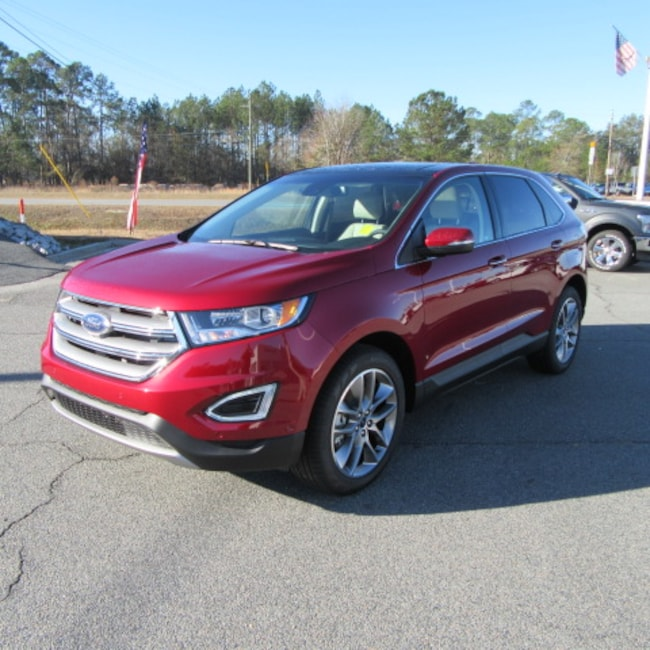 New 2018 Ford Edge Titanium SUV For Sale in Waycross