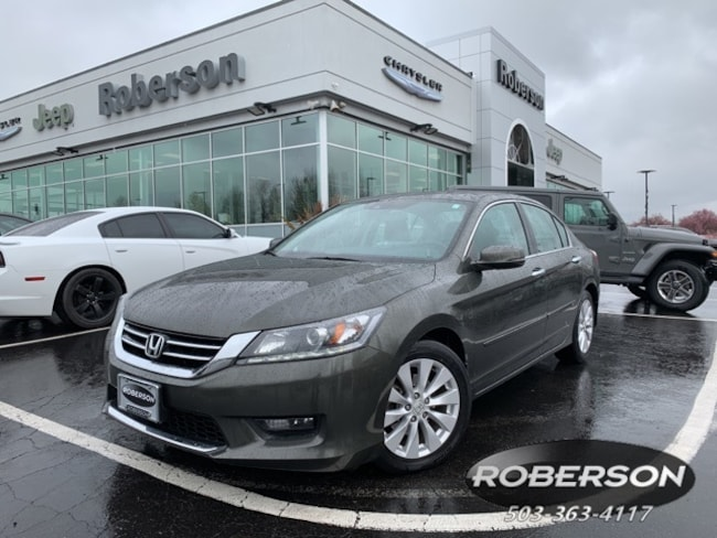 Used 2014 Honda Accord EX-L V-6 Sedan in Salem, OR
