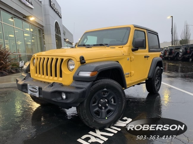New 2019 Jeep Wrangler SPORT 4X4 Sport Utility in Salem, OR