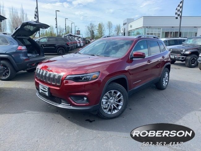 New 2019 Jeep Cherokee LATITUDE PLUS 4X4 Sport Utility in Salem, OR