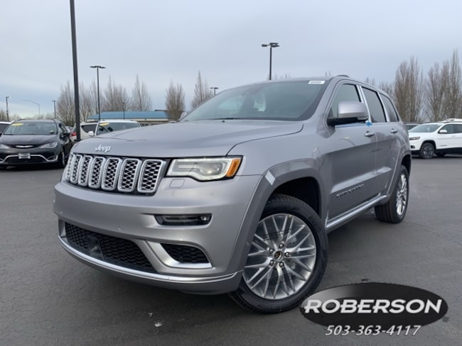 New 2018 Jeep Grand Cherokee SUMMIT 4X4 Sport Utility in Salem, OR
