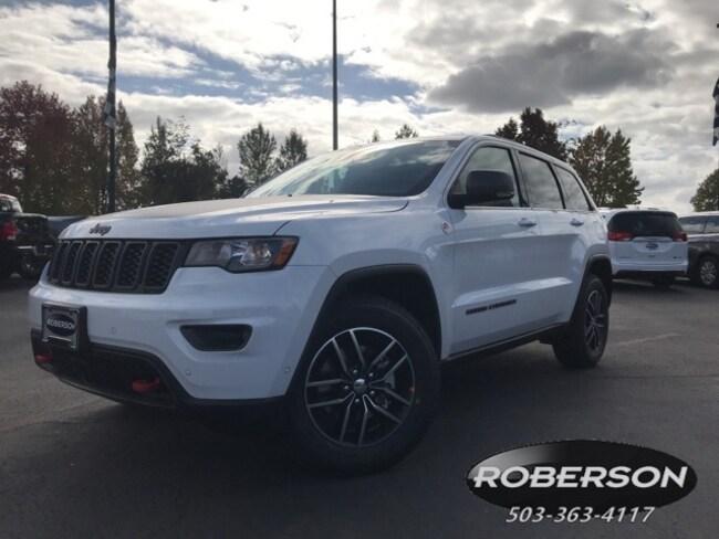 New 2018 Jeep Grand Cherokee TRAILHAWK 4X4 Sport Utility in Salem, OR