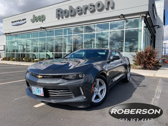 Used 2017 Chevrolet Camaro 1LT Coupe in Salem, OR