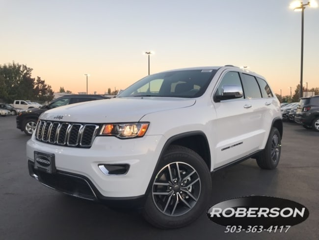 New 2019 Jeep Grand Cherokee LIMITED 4X4 Sport Utility in Salem, OR