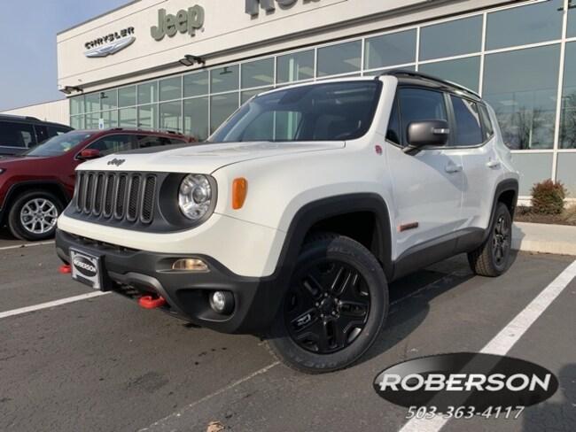 New 2018 Jeep Renegade TRAILHAWK 4X4 Sport Utility in Salem, OR