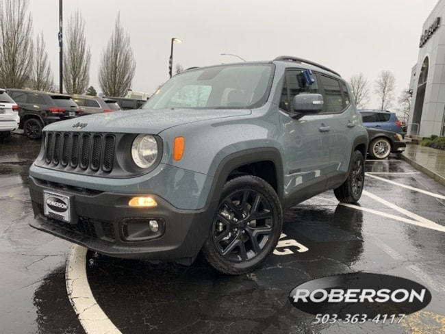 New 2018 Jeep Renegade ALTITUDE 4X2 Sport Utility in Salem, OR
