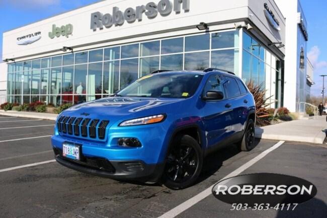 2017 Jeep Cherokee Sport FWD SUV