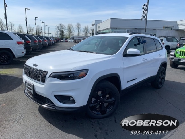 New 2019 Jeep Cherokee ALTITUDE FWD Sport Utility in Salem, OR