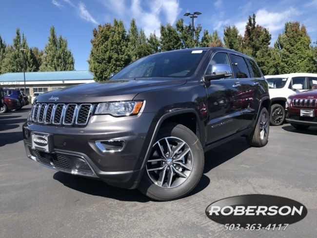 New 2018 Jeep Grand Cherokee LIMITED 4X4 Sport Utility in Salem, OR