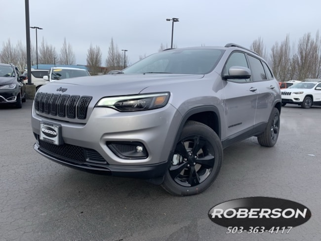 New 2019 Jeep Cherokee ALTITUDE 4X4 Sport Utility in Salem, OR