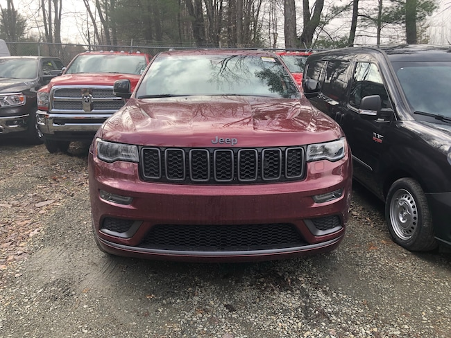 New 2019 Jeep Grand Cherokee LIMITED X 4X4 Sport Utility in Monticello NY