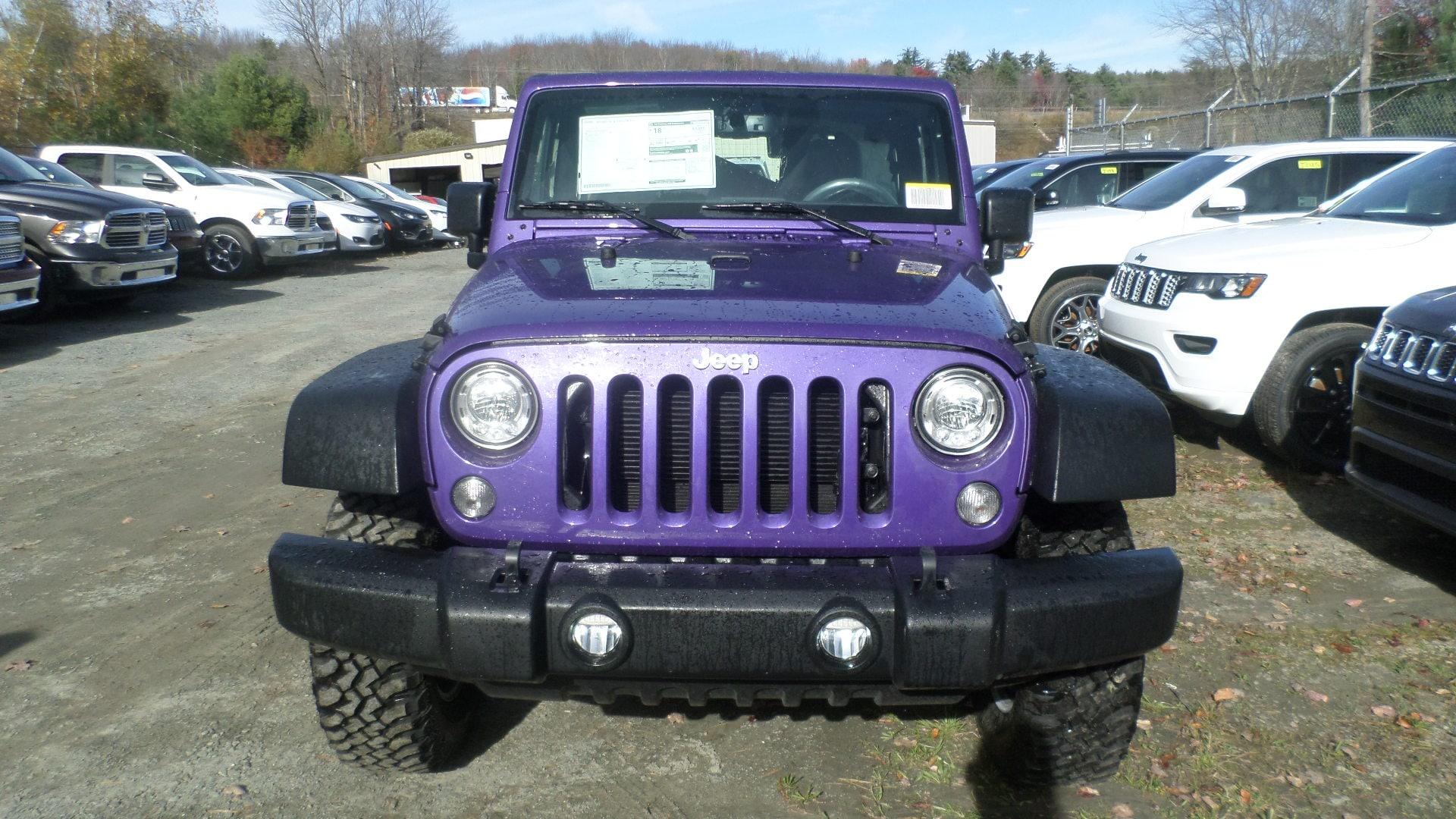 New 2018 Jeep Wrangler Jk Rubicon 4x4 For Sale In Monticello Ny