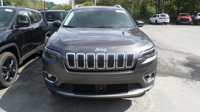 New 2019 Jeep Cherokee LIMITED 4X4 Sport Utility in Monticello NY