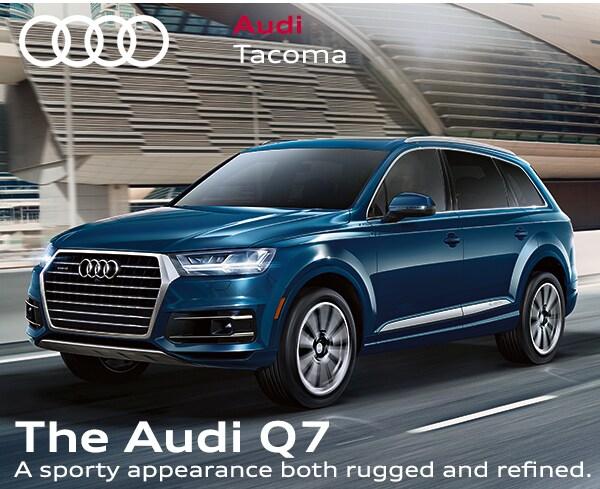 Audi Tacoma | New Audi dealership in Fife, WA 98424