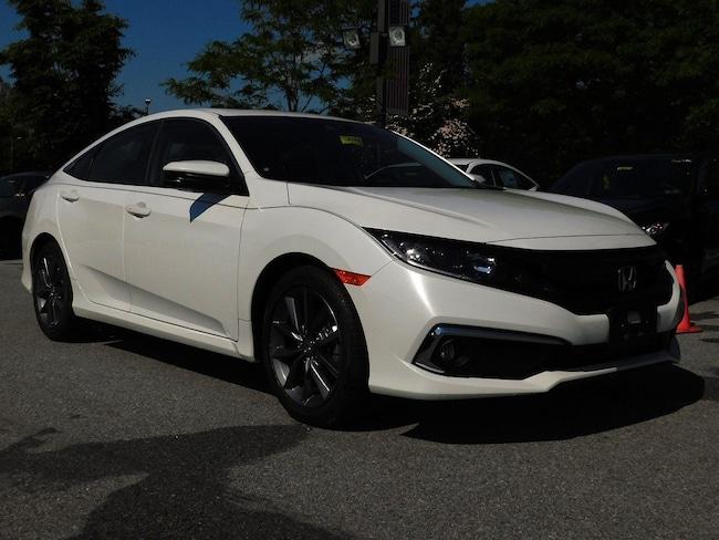 2019 Honda Civic EX-L CVT 4dr Car for sale in Downington, PA at Roberts Honda