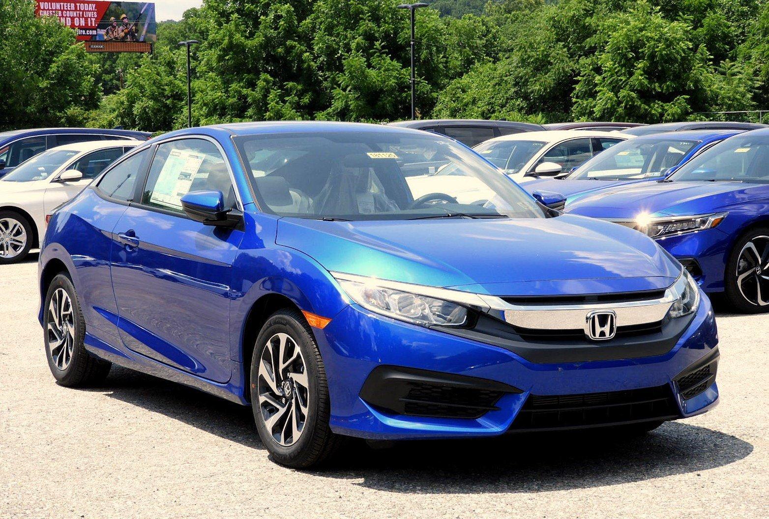 New 2018 Honda Civic LX Manual Aegean Blue Metallic For Sale in Downingtown  PA | Stock:181125-R
