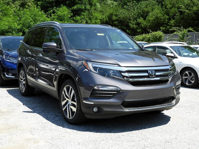 New 2018 Honda Pilot Touring Awd Modern Steel Metallic For Sale In