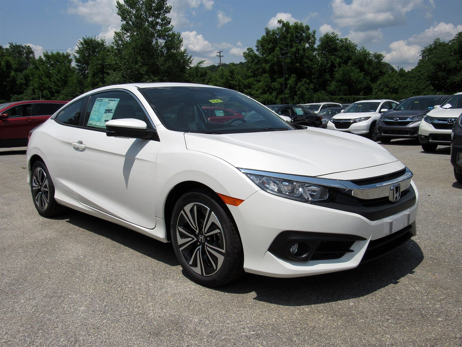 New 2018 Honda Civic EX-T Manual White Orchid Pearl For Sale in Downingtown  PA | Stock:181413-R
