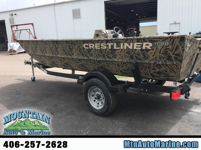 2018 Crestliner 1660 Retriever