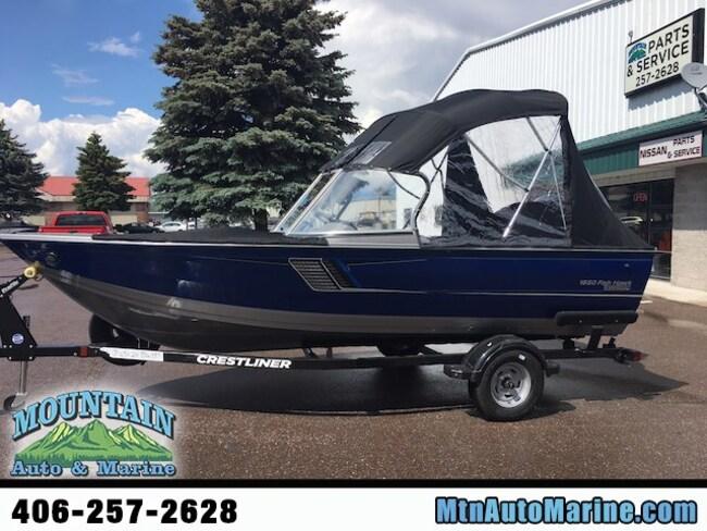 2018 Crestliner 1650 Fish Hawk