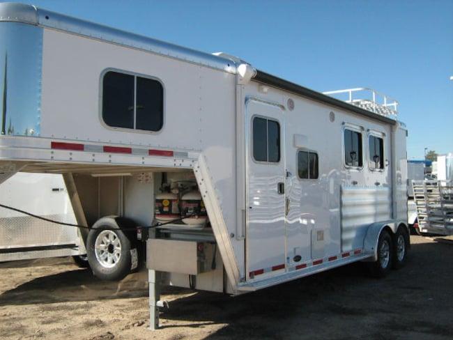 2016 Featherlite 8541 7 Wide 2 Horse Custom