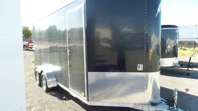 2014 Featherlite 16Enclosed Utility Trail 6.7x16 Cargo V-Nose